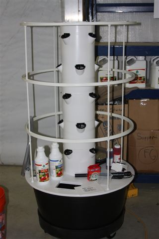The Tower Garden Home Growing Kit Live Well